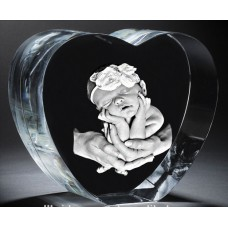 Large Crystal Heart